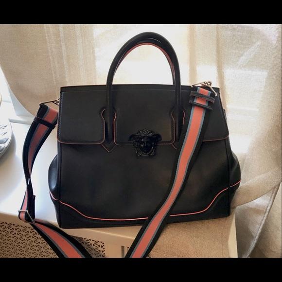 Versace LARGE Medusa empire bag with dust bag. M 5ace3559d39ca23e31c57c88 b65c562b73